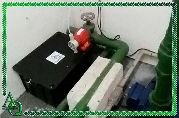 Empresas de tratamento de água